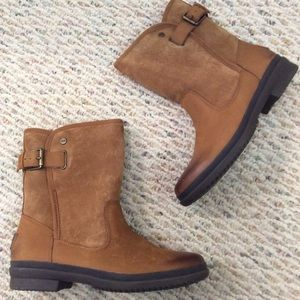 🆕 Authentic UGG tan leather waterproof boots- 7